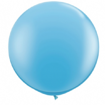3ft Giant Balloons - Pale Blue Latex Balloon 1pc